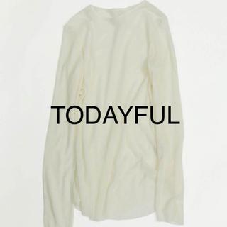 トゥデイフル(TODAYFUL)のSheer Long T-Shirts TODAYFUL(Tシャツ(長袖/七分))