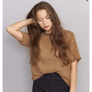 ビューティアンドユースユナイテッドアローズ(BEAUTY&YOUTH UNITED ARROWS)のBY ユナイテッドアローズ シフォンシアーTシャツ(Tシャツ(半袖/袖なし))