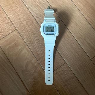 マーガレットハウエル(MARGARET HOWELL)のMHL g-shock 腕時計(腕時計)