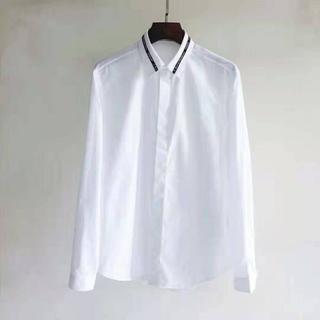 ディオール(Dior)のDiorロゴ シンプルシャツ 40(シャツ)