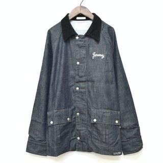 DELUXE - 美品 DELUXE CLOTHING デラックス 刺繍 デニム ジャケット L