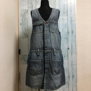 DENIM DUNGAREE - DENIM DUNGAREE  150 ワンピース‼︎