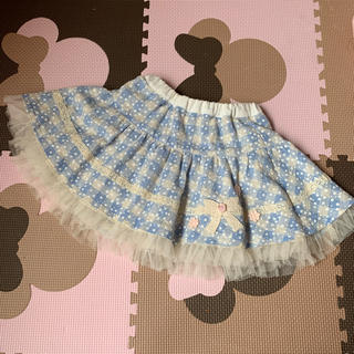 スーリー(Souris)のsouris♡リバーシブルスカート♡90(スカート)