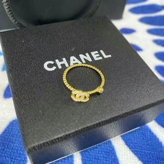 シャネル(CHANEL)のChanel シャネル レディース ゴールド リング 指輪(リング(指輪))