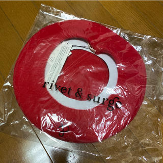rivet & surge - ベレー帽(赤)