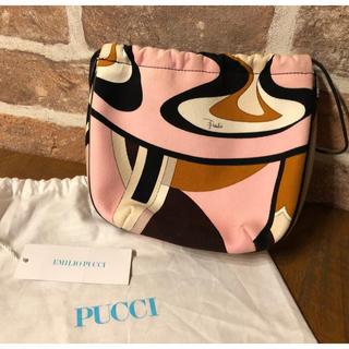 EMILIO PUCCI - 未使用品 エミリオプッチ EMILIO PUCCI 巾着バッグ