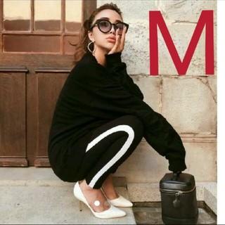 H&M - 新品! H&M サイドライン レギンス M GYDA MOUSSY SLY