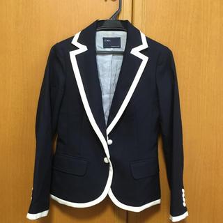 イエナ(IENA)のイエナ❤️中美品  上質高級  ウールジャケットシンプル  美ライン  中美品(テーラードジャケット)
