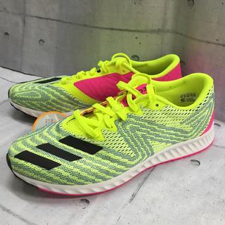 adidas - 新品 アディダス adidas ランニングシューズ 27.5cm 黄色 幅広