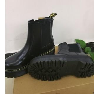 ドクターマーチン(Dr.Martens)のDr. Martens ドクターマーチン 厚底ブーツ 黒 UK4(ブーツ)