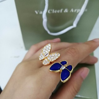 Van Cleef & Arpels - Van Cleef & Arpels リング 指輪 美品