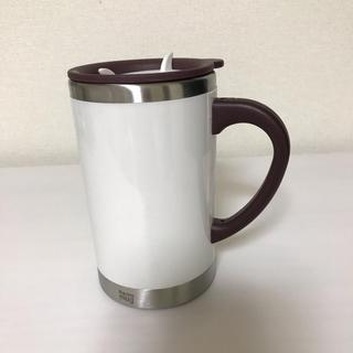 thermo mug - サーモマグ ホワイト 取っ手付き