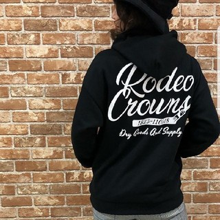 RODEO CROWNS WIDE BOWL - 完売品✩RODEO CROWNS✩RCWB✩PAINT WORKS パーカー