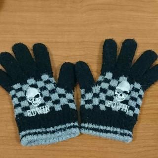エドウィン(EDWIN)のEDWIN ドクロ ボーイズ手袋(手袋)
