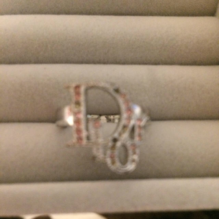クリスチャンディオール(Christian Dior)のDior リング スワロフスキー付き(リング(指輪))