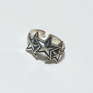 ベイフロー(BAYFLOW)のsilver925 シルバーリング 星(リング(指輪))