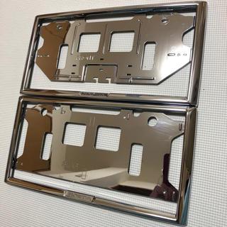 ホンダ - 美品 ☆ HONDA ホンダ ナンバーフレーム フロント+リア セット 純正