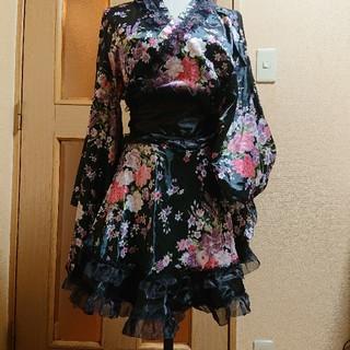 デイジーストア(dazzy store)の★専用です★ハロウィン🎃コスプレ ミニ浴衣( *˘ ³˘)♡(衣装一式)