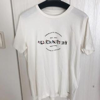 コーチ(COACH)のCOACH 花柄刺繍Tシャツ(Tシャツ(半袖/袖なし))