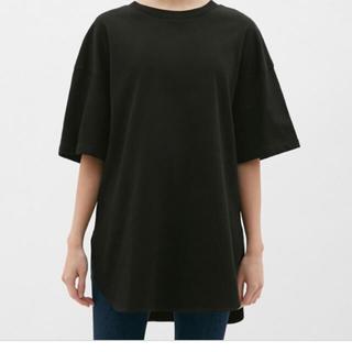 GU - GU ベビーウェイト オーバーサイズ  Tシャツ