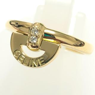セリーヌ(celine)のセリーヌ Celine リング ダイヤモンド ダイヤリング 指輪 k18yg(リング(指輪))