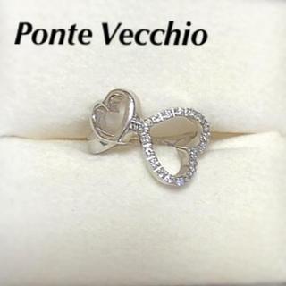 PonteVecchio - ポンテヴェキオ ハートモチーフ ダイヤリングk18