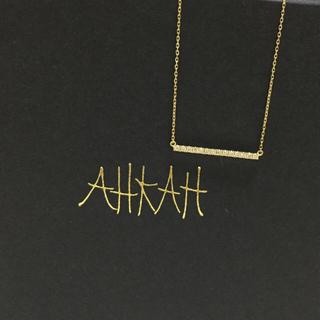 アーカー(AHKAH)のトーマスさま専用 AHKAH♡アーカー ティナラインネックレス K18(ネックレス)
