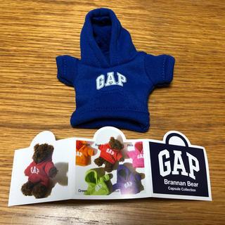 ギャップ(GAP)のGAPパーカー 幻のガチャガチャ  ブルー(キャラクターグッズ)