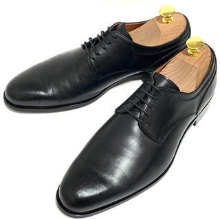 マドラス(madras)のMADRAS 24.5cm プレーントゥ ビジネスシューズ ブラック 本革 革靴(ドレス/ビジネス)