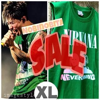 ワンオクロック(ONE OK ROCK)の残り僅かの為SALEします!XL) nirvana nevermind T(Tシャツ/カットソー(半袖/袖なし))