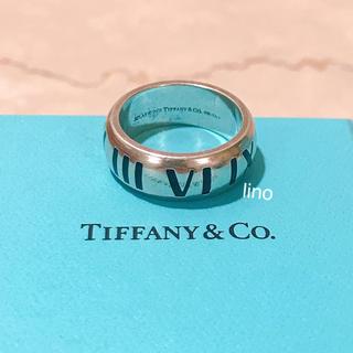 Tiffany & Co. - ティファニー Tiffany アトラスリング 指輪  メンズ アトラス リング