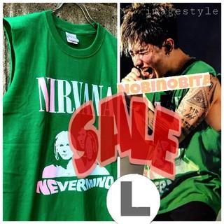 ワンオクロック(ONE OK ROCK)の残り僅かの為SALEします! L◇nirvana nevermind T(Tシャツ/カットソー(半袖/袖なし))