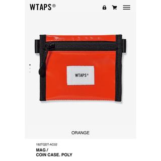 ダブルタップス(W)taps)のCOIN CASE オレンジ WTAPS 19AW(コインケース/小銭入れ)
