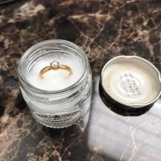 k18の真珠リング(リング(指輪))