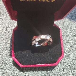カルティエ(Cartier)の綺麗リング Cartier カルティエ US7号 プレゼント(リング(指輪))