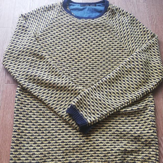 ZARA(ザラ)のzaraニット メンズのトップス(ニット/セーター)の商品写真