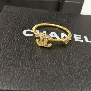 シャネル(CHANEL)のシャネル レディース ゴールド リング 指輪 6号 (リング(指輪))