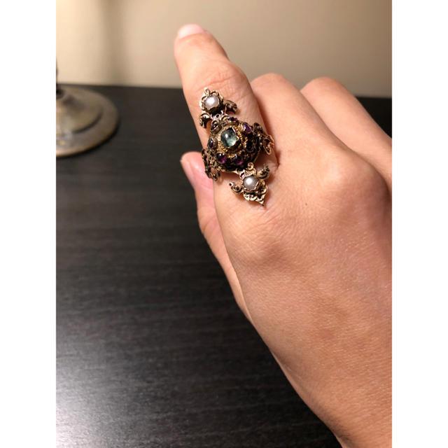 Georg Jensen(ジョージジェンセン)のANTIQUEリング 鑑別書付き レディースのアクセサリー(リング(指輪))の商品写真