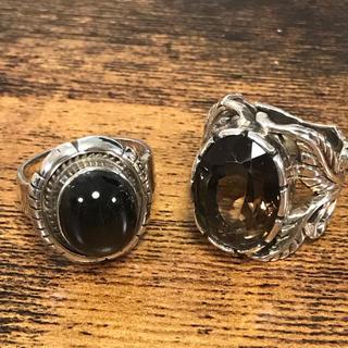 五郎様♡スモーキークオーツ ブラックスター シルバー925 リング 指輪(リング(指輪))