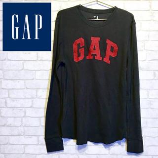 ギャップ(GAP)の【GAP】ロンT トレーナー カットソー長袖・ブラック☆Mサイズ☆(Tシャツ/カットソー(七分/長袖))
