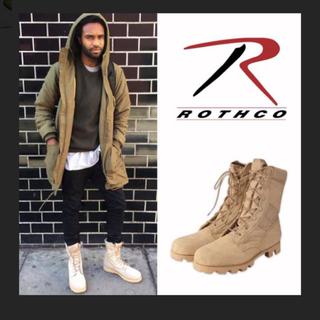 ロスコ(ROTHCO)の米軍デザートブーツ(ブーツ)