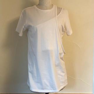 ビューティアンドユースユナイテッドアローズ(BEAUTY&YOUTH UNITED ARROWS)のlittle suzie Asymmetry Layered Tops(Tシャツ(半袖/袖なし))