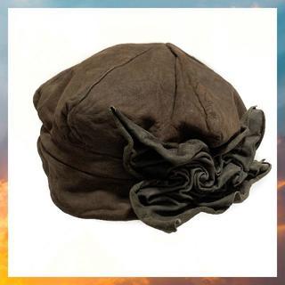 カシラ(CA4LA)のCA4LA カシラ 帽子 キャスケット キャップ レザー 牛革 レディース 本革(キャスケット)