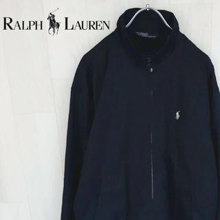 ラルフローレン(Ralph Lauren)の【04-32】ポロバイラルフローレン スウィングトップ ネイビー 紺 刺繍ロゴ(ブルゾン)