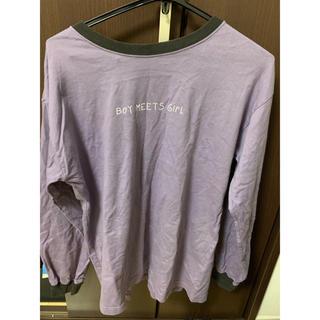 ダブルクローゼット(w closet)のw closet トップス ロンT(Tシャツ(長袖/七分))