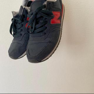 ニューバランス(New Balance)のnew balance 420 ネイビー×レッド(スニーカー)