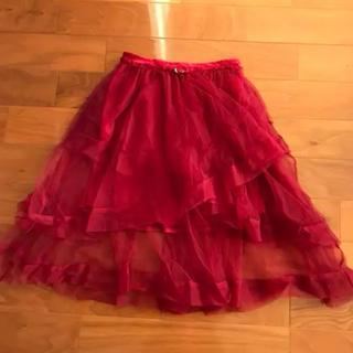 リズリサ(LIZ LISA)のLIZLISA チュールスカート(ひざ丈スカート)