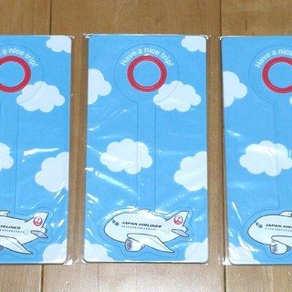 JAL(日本航空) - JAL  バゲージタグ 3個セット