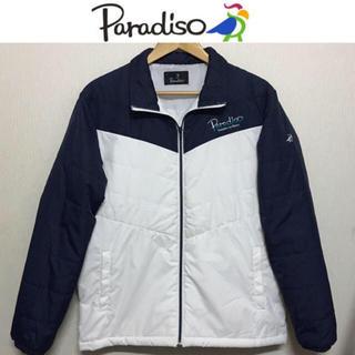 パラディーゾ(Paradiso)のパラディーゾ ブルゾン PARADISO 中綿 ジャケット ゴルフ テニス 美品(ブルゾン)