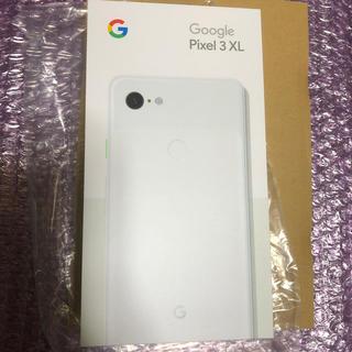 NTTdocomo - 【ロック解除済】Google Pixel 3 XL 128GB ホワイト